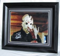 "A516TW TED WHITE - ""FRIDAY THE 13th - JASON"" SIGNED"